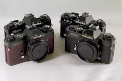 Black XD11s ([Anthony T.]) Tags: camera black film vintage lens minolta xd11 akiasahi cameraleathercom