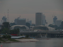 Singapore Skyline (Wilson Loo) Tags: singapore esplanade marinabay marinabarrage