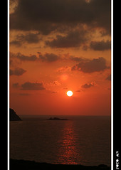 Red hot sunset... (Antonello Naitana) Tags: sardegna sunset red hot canon tramonto sardinia 1972 rosso canoneos lello redsunset caldo day271 tramontorosso day270 lello72 oneofmypics superstarthebest
