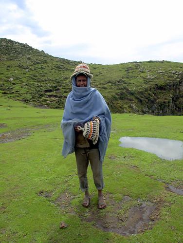 Sombreros de pastor en Debre Sina (Etiopía)