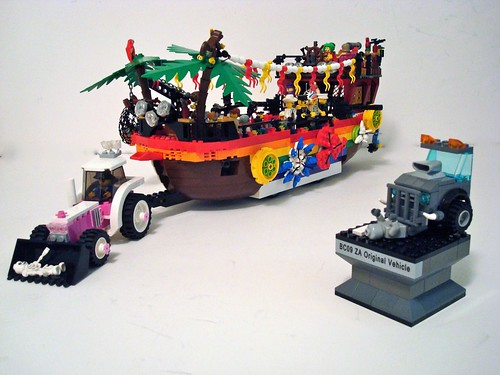 The Zombie Killin' Gay Pride Float won Best Original Apocafied Vehicle for ...