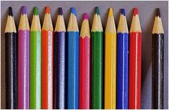 Macro #3a (like jazz) Tags: test colour pencils coloured f28 sharpness pietmondrian d90 tokina100mmf28atxprod tokinamacro100mmatxpro