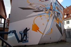 Daim (at work...) (Pasota.com) Tags: street urban art project germany graffiti can spray daim lneburg artotale leuphane