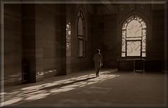 Grand Mosque Bahrain (©Helminadia Ranford) Tags: light sun man window nature bahrain mosque rays