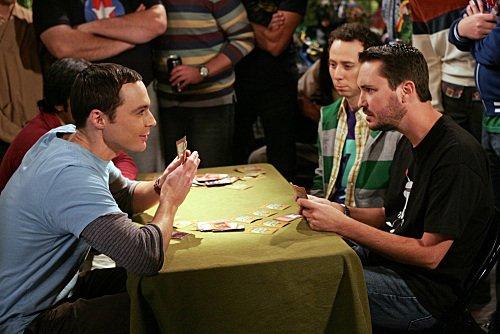 Sheldon e Wil Wheaton-Big Bang Theory