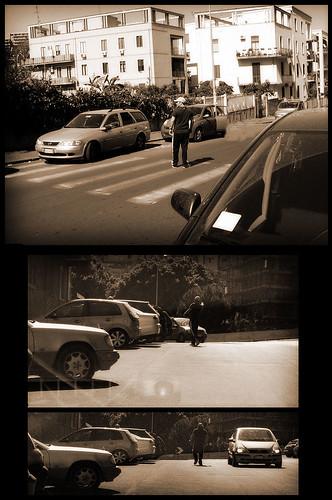 Catania, parcheggiatore abusivo istituzionalizzato