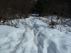 The snow gets deeper