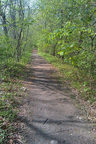 Blackstone Valley Bike Path - old towpath