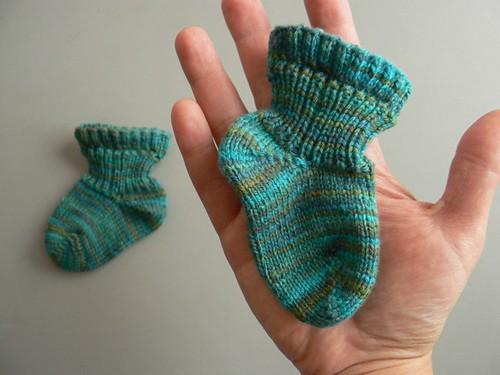 the tiniest socks