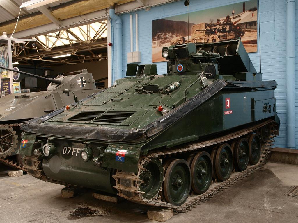 Striker FV 102 Anti-tank Missile Carrier