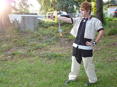 Prepared to Fight! (stormymoorecosplay) Tags: john hearts costume video cosplay kingdom stormy games moore axel johnmoore vivi sora riku kingdomhearts chapman roxas pence 2011 organizationxiii vipperman axelroxas nashicon2010 stormymoorecosplay johnmoorechapman stormyvipperman roundcon