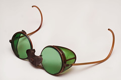 glasses welding goggles eyeglasses spectacles steampunk