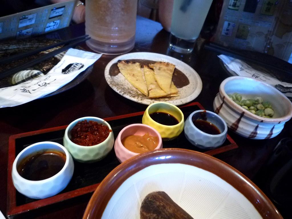 Maedaya dipping sauces