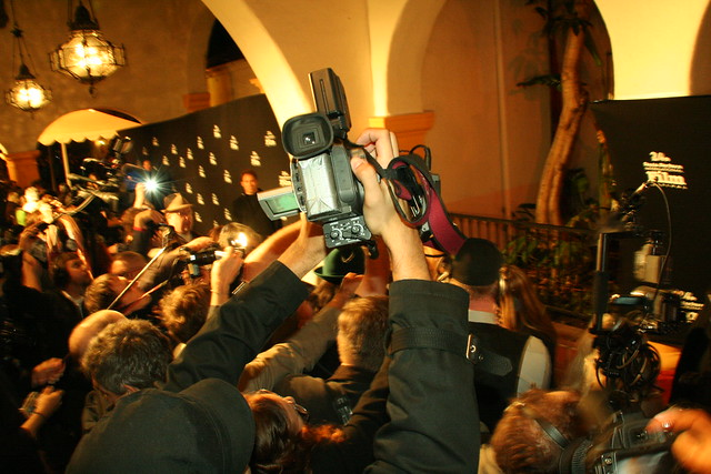 The Media Throng at SBIFF Surrounding Kate Winslet by Sleeptest