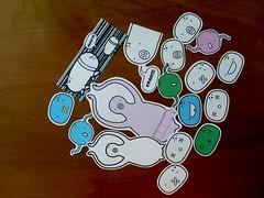 Sticker Fabrica Mutante (º-ºFabrica Mutanteº-º) Tags: chile sticker arte colores varios urbano vector ilustracion blanconegro mutantes pegamento vectores primmo