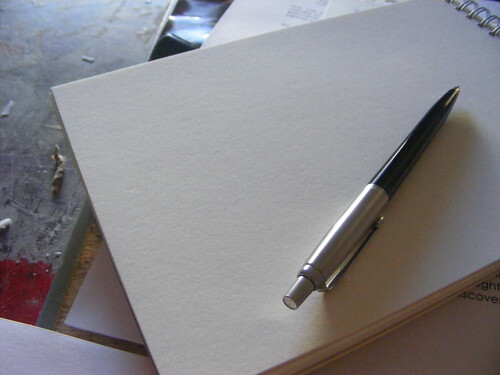 Pen and Paper by Kristian D..