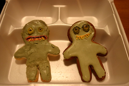 Birth of the Gollum and Smeagol cookies