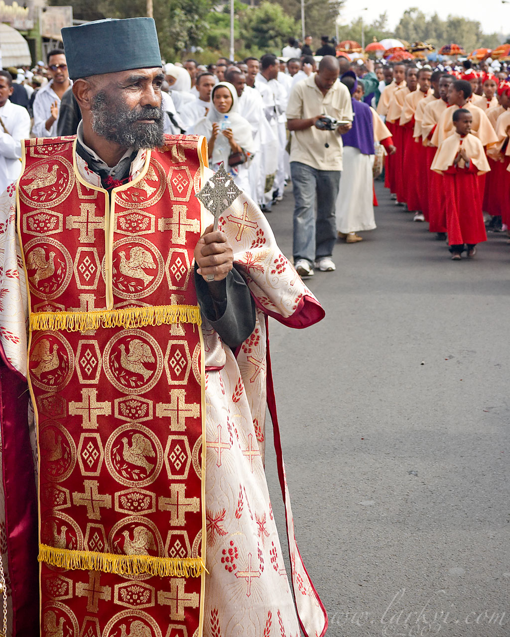Procession #3, Timkat (Epiphany), Addis Ababa, Ethiopia, January 2009