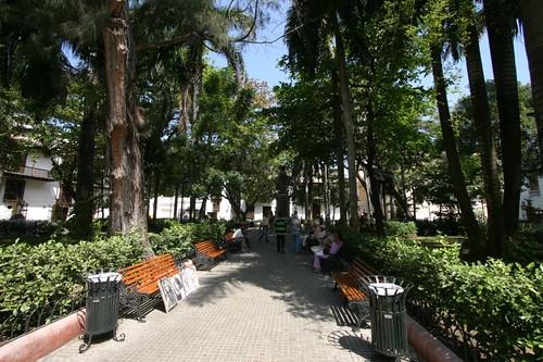 Parque Bolívar, Cartagena.