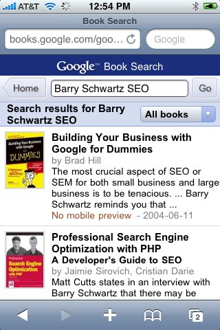Google Books Mobile