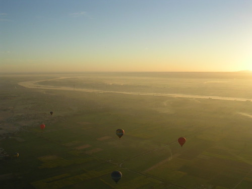 The view from the balloon