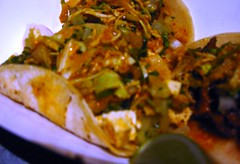 Kogi BBQ tofu taco