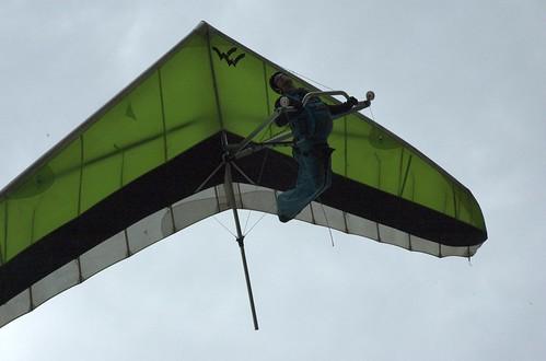 Glider above me