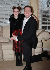 Em and Dave before Daddy Daughter Dance