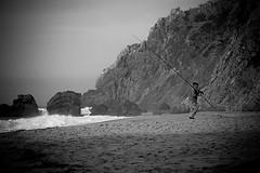 I give up (Valter Sousa) Tags: bw white black praia beach branco zeiss canon t eos focus flickr f14 85mm preto carl manual cy pescador fishman planar 30d sousa adraga valter canoneos30d contaxyashica blackwhiteaward ilustrarportugal srieouro planart1485