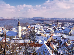 Zemun (Dragan*) Tags: city roof winter light sky urban panorama snow church sunshine clouds river cityscape cross serbia perspective sunny steeple getty belgrade beograd danuberiver balkan srbija dunav dragantodorovic београд mygearandme mygearandmepremium mygearandmebronze mygearandmesilver mygearandmegold mygearandmeplatinum blinkagain flickrstruereflectionlevel1