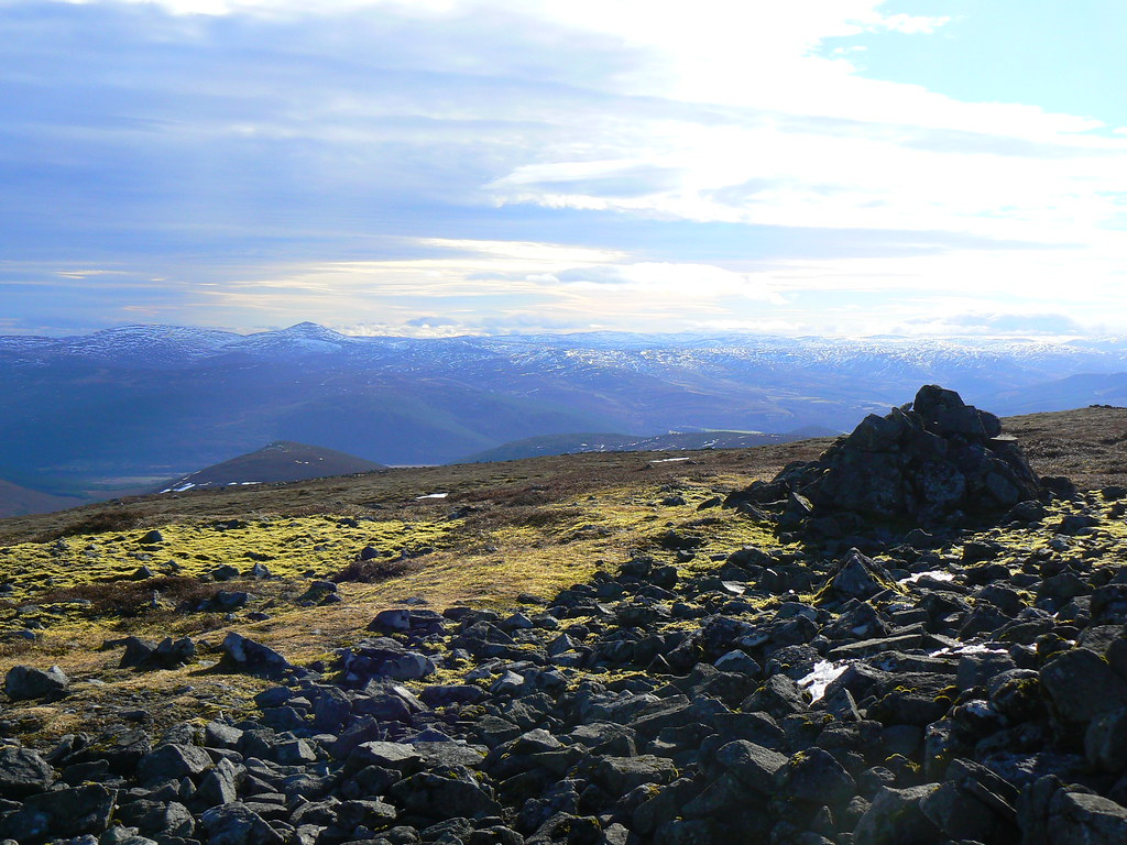 View from Morven summit