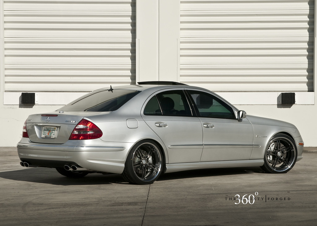 "Nitto Invo Tires >> 360 FORGED E55 AMG w/ 20"" CF5IVE carbon fiber"