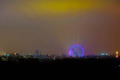 London Eye 31122008 2350 (AlKandari) Tags: uk sky london eye effects lights fireworks londoneye newyear kuwait             alkandari