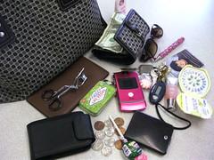 lo que hay en la cartera de Mari