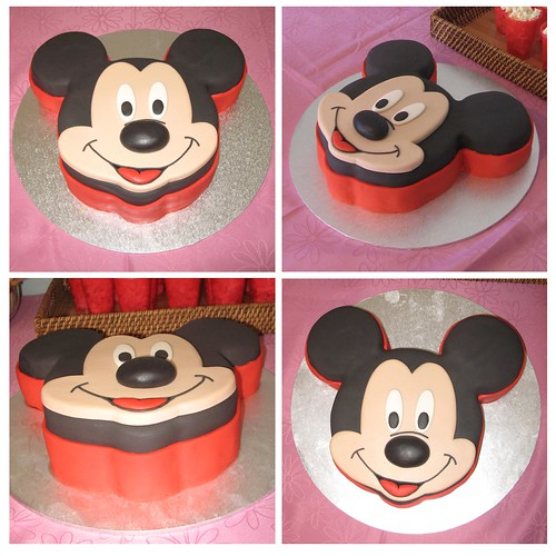 mickey mouse cake. Mickey Mouse Cake