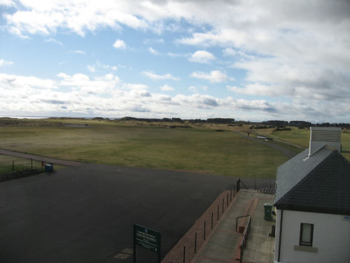 View from Carnoustie Golf Hotel