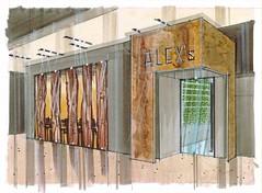 Alex's Bistro Lobby Entrance