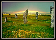 Callanish (petelovespurple) Tags: scotland westernisles picnik stonecircles gneiss myfirstphotoonflickr doublyniceshot mygearandmepremium mygearandmebronze mygearandmesilver