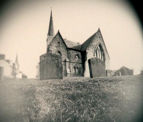 Barony church pinhole19Mar09