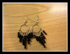Pendenti swarovski (marziafata) Tags: swarovski nero orecchini