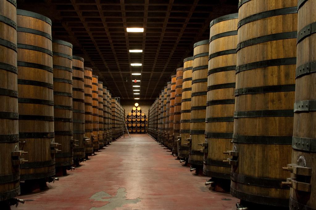 E.&J. Gallo Winery in Modesto, California