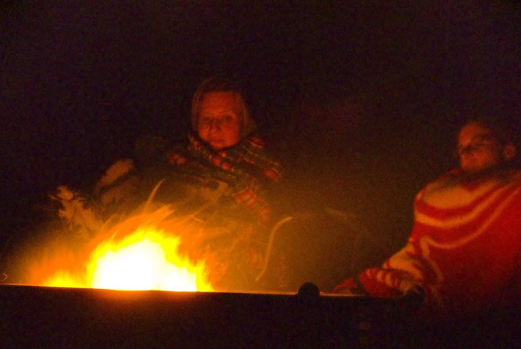 Campfire - Moab, Utah
