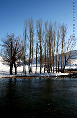 Its the time to melt the ice (Falling Dreams) Tags: blue winter mountain snow reflection tree water flickr         kohrang  fallingdreams flickrlovers