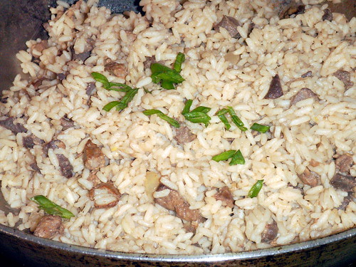 "Southern ""dirty"" rice"