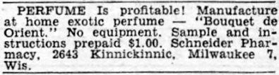 Popular Mechanics Mar 1948 Profitable Occupations Eau de Milwaukee