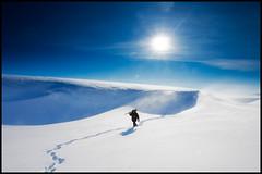 AndiK_Gednje_280309 (Mikko Ala-Kojola) Tags: blue sun white snow norway photographer finnmark gednje mikkoalakojola