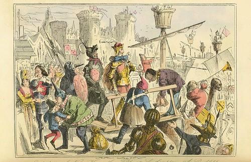006- Embarque del rey Henry I en Southampton 1415 AD