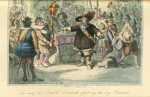 014- Crowell disolviendo la camara alta del Parlamento