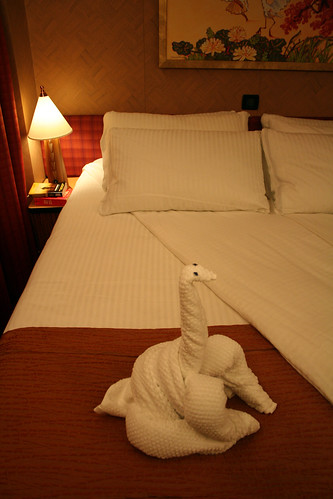 Dinosaur Towel Animal (Cabin 1101, Carnival Splendor)