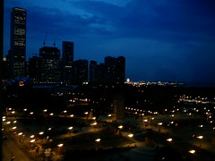 Room with a view (Rick Mayerhofer) Tags: chicago skyline night